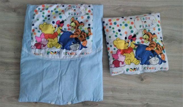 Kołdra i poduszka dla niemowlaka i noworodka