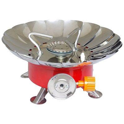 Портативная газовая плита мини YC-301, маленькая турестическая горелка