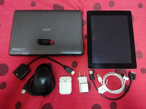iPad 3 WI-FI 32 Gb + Acer Iconia Tab W500