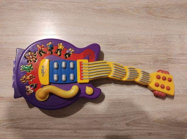 Interaktywna zabawka grająca gitara kilka melodii