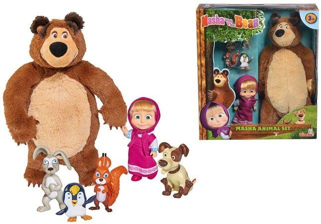Masha e o Urso e amigos (novo e selado) canal panda