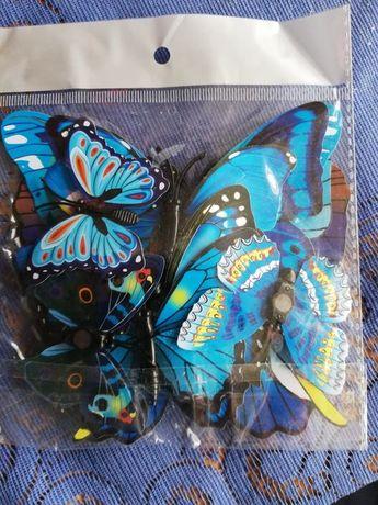 Motyle 3D Dekoracja
