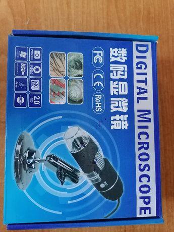 Mikroskop CYFROWY USB LED ZOOM przybliżenie 1000x
