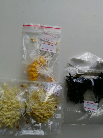 Тычинки для создания цветов из полимерной глины, фоамирана, лент