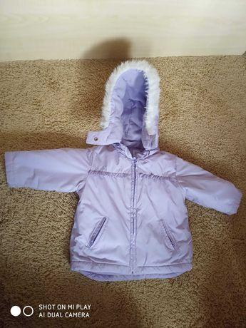 Puchowa kurtka zimowa GAP dziecięca 12-18 miesiecy