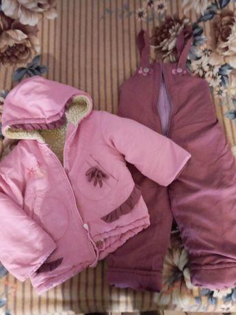 Курточка+комбинезон зима