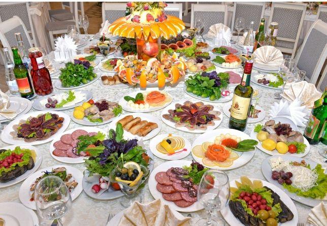Готовые и блюда на заморозку. Фуршет, банкет, праздничный стол.