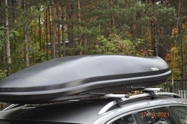 Bagażnik dachowy THULE wynajem wypożyczalnia THULE XL ZAWIERCIE