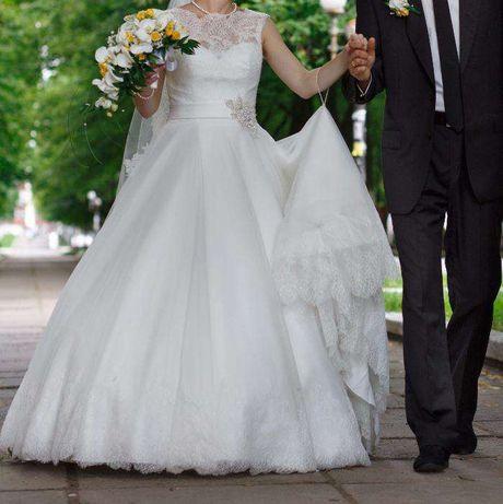 Не вінчана весільна сукня,шлейф,весільне плаття Mori Lee, платье