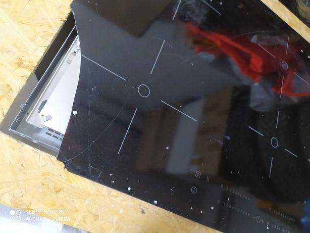Płyta indukcyjna z płytą OSB i styropianem za darmo zbita dwa palniki