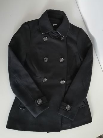 Granatowy płaszcz Tally Weijl 34
