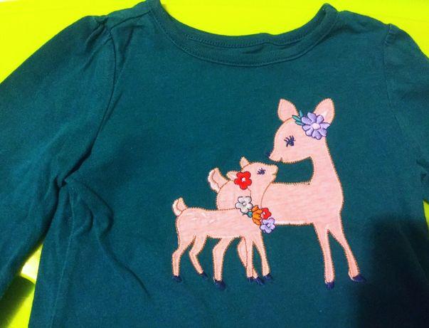 лонгслив Crazy8 футболка с длинным рукавом кофта релан 18-24м