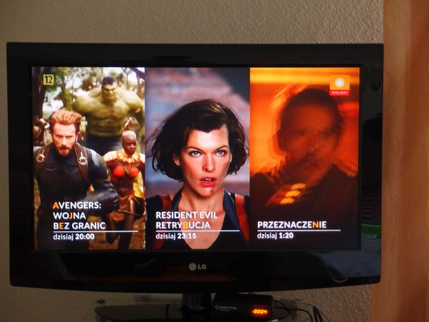 """Telewizor LG 32"""" TV + dekoder DVBT Manta hdmi samsung sharp philips"""