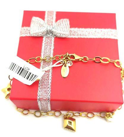 Złota bransoletka celebrytka p.585 6,33g LOM95