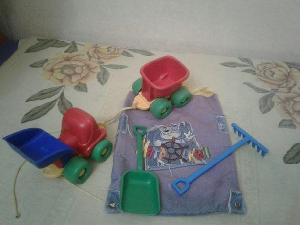 Продам игрушки,для песка с рюкзаком