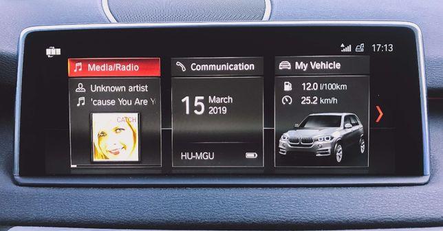 BMW Nawigacja NBT EVO Konwersja USA na EU Mapa Polskie Menu CarPlay