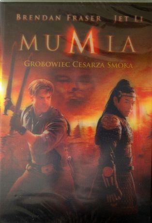 MUMIA Grobowiec Cesarza Smoka DVD Nowe Folia