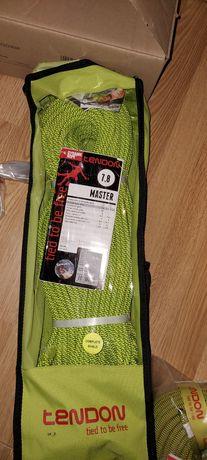 Lina dynamiczna tendon master 7.8 zielona 70m