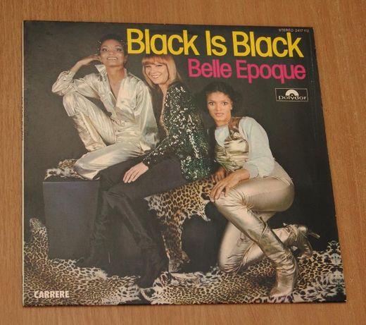 "DISCO Пластинка Bele Epoque ""Black Is Black (Miss Broadway)"" 1977."