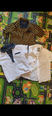 Футболки и рубашки на мальчика 80-86 размер