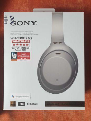 Słuchawki bezprzewodowe Sony WH 1000X M3 stan bardzo dobry