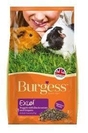 Karma brytyjska Burgess dla świnki z porzeczką i oregano - kawia domow