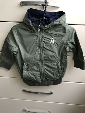 Куртка весняна плащовка 86 розмір двохстороння + кофта