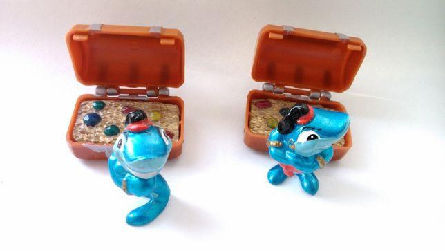 Киндер сюрприз 90-е годы Акула с сундуком драгоценностей. Kinder Surpr