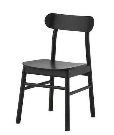 cadeira preta Ronninge