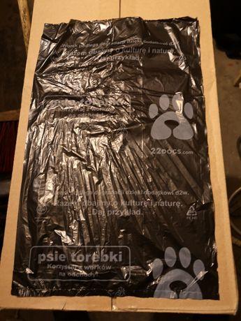 Worki na psie odchody pakiet 10 kartonów