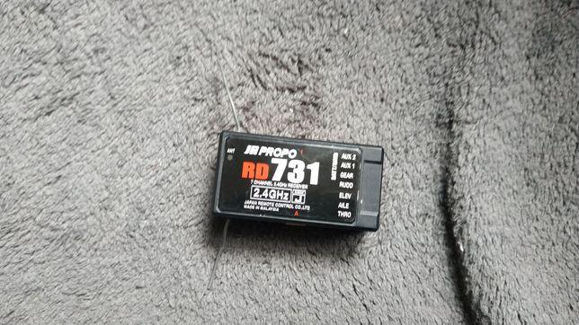 JR Propo Приемник RD731 7СН DSMJ 2.4GHz