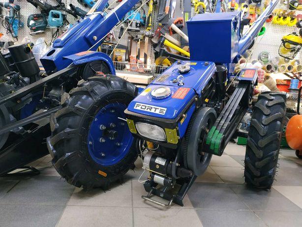 Новий Forte МД-81GT мотоблок дизельний синій