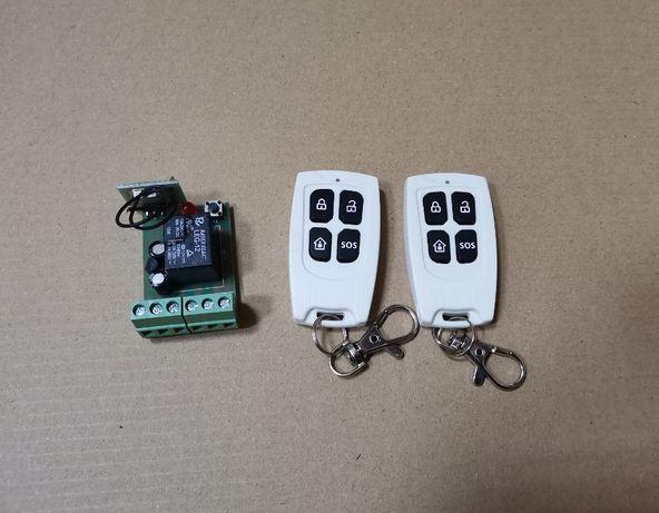 Радиореле для ворот или дверей Открыто/Закрыто, 2 брелка