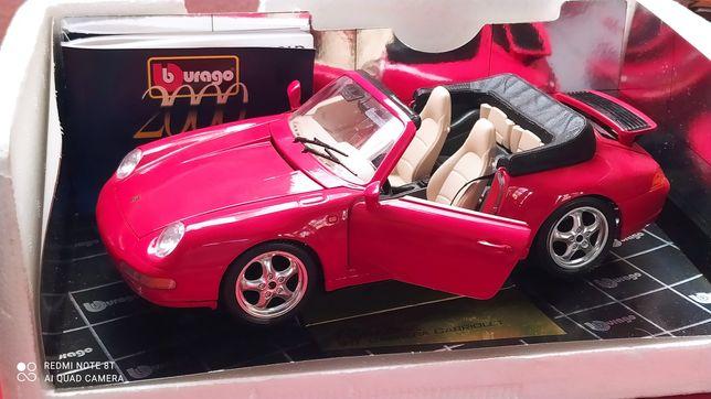 Porshe 911 Carrera Cabriolet 1/18