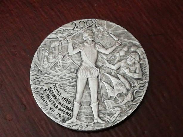 Medalha Camões ano 2001 da Philae