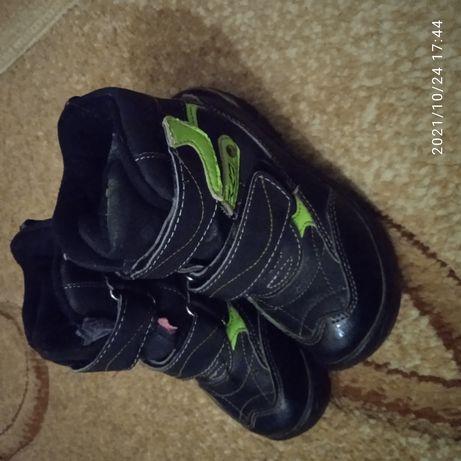 Зимние ботинки р 28