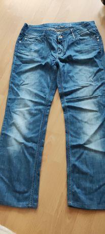 Spodnie jeansowe jeansy damskie, patrol jeans, rozmiar M