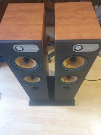 B&W 684 Bowers & Wilkins kolumny głośniki podłogowe i NAD c325bee