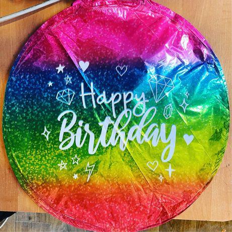 Happy Birhtday фольгинированые шары