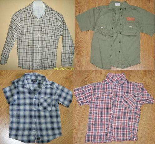 Koszule szt.4 rozm. 116,122,128 Koszule szt.4 rozm. 116,122,128