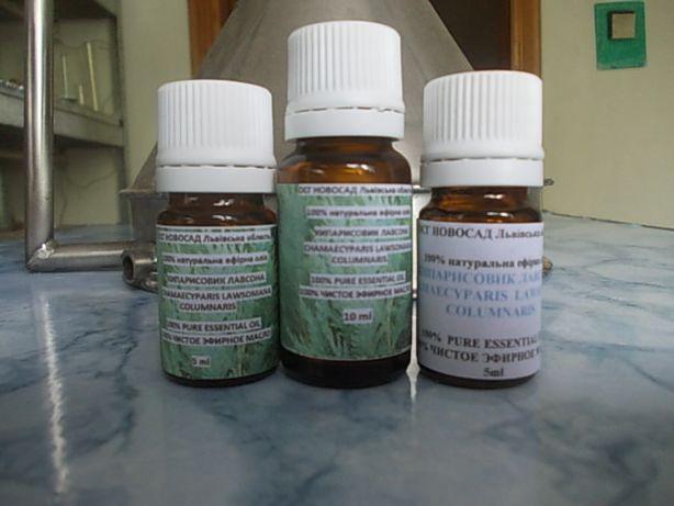Ефірна олія кипарисовика Лавсона власного виробництва