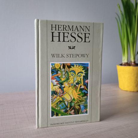 Hermann Hesse Wilk stepowy PIW twarda oprawa