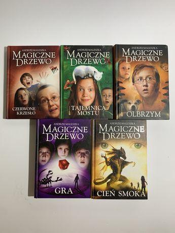 """Książki """"Magiczne Drzewo"""" pięć cz."""