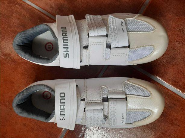 Sapato ciclismo Shimano RP2W - Tamanho 36 - Novos