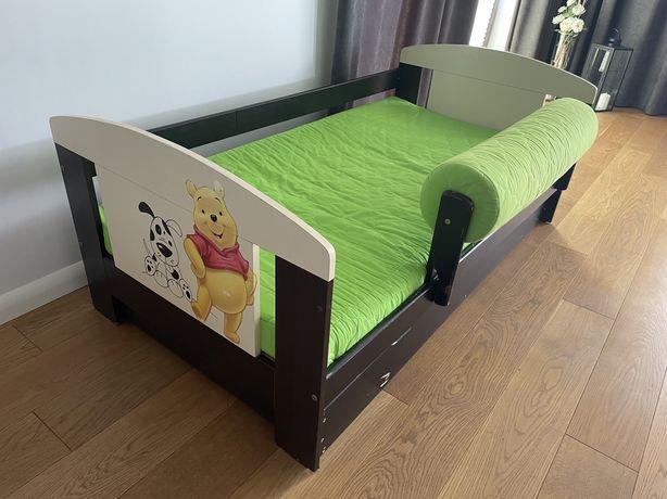 Łóżko dziecięce drewniane 160x80