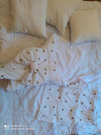 Дитяча постіль, конверт,подушки за низьку ціну