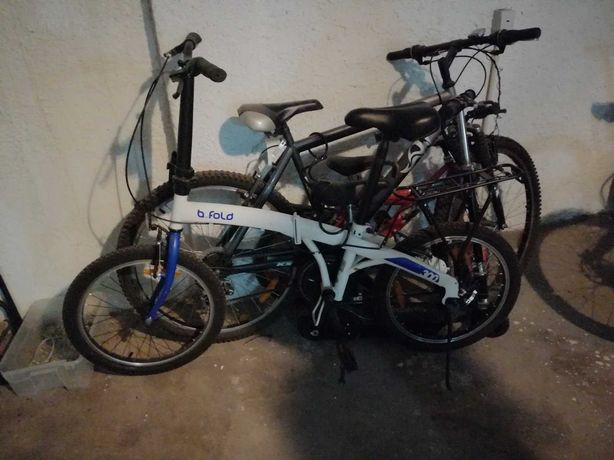 Bicicleta Dobrável Decathlon B.Fold 300