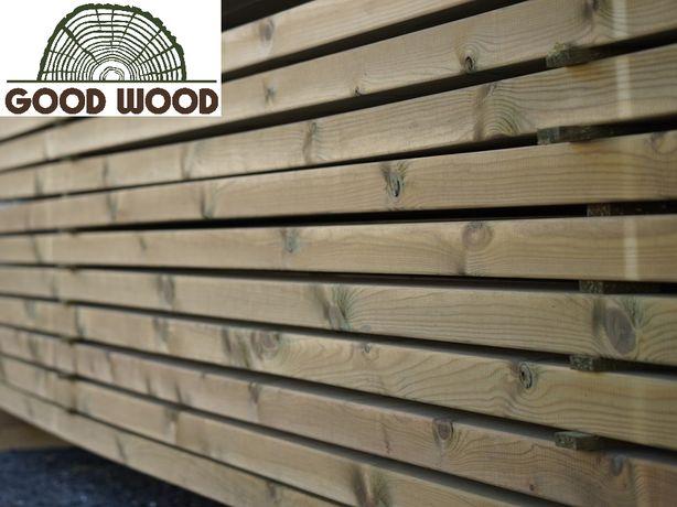 Drewno konstrukcyjne C24 45x145 mm IMPREGNOWANE, kantówka SZWEDZKIE!!!