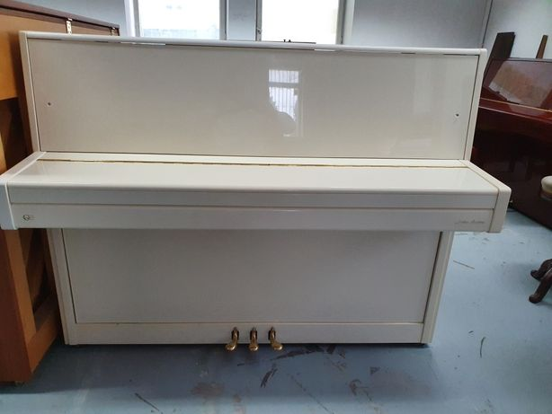 Pianino biale (kremowe) PERZINA