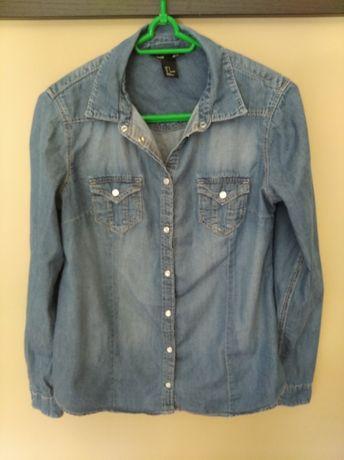 Koszula jeans ciążowa h&m mama r. S 36